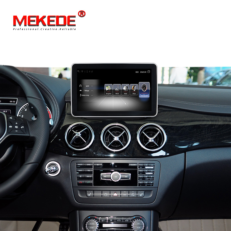 Mekede 9 android 7.1 car radio gps dvd for Benz B class W246 2013 2014 2015 2016 2017 2018 2019 with 4G LTE wifi BT carplay image