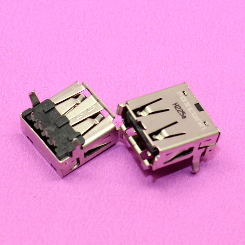 2.0 USB Jack Connector for Desktop case Mobile device ALL-NI-ONE PC etc USB Port 90AF