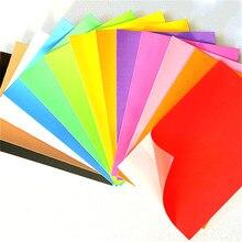 Sponge-Paper Origami EVA Back-Stickers Wedding-Party-Decoration DIY Hand-Color 10pcs