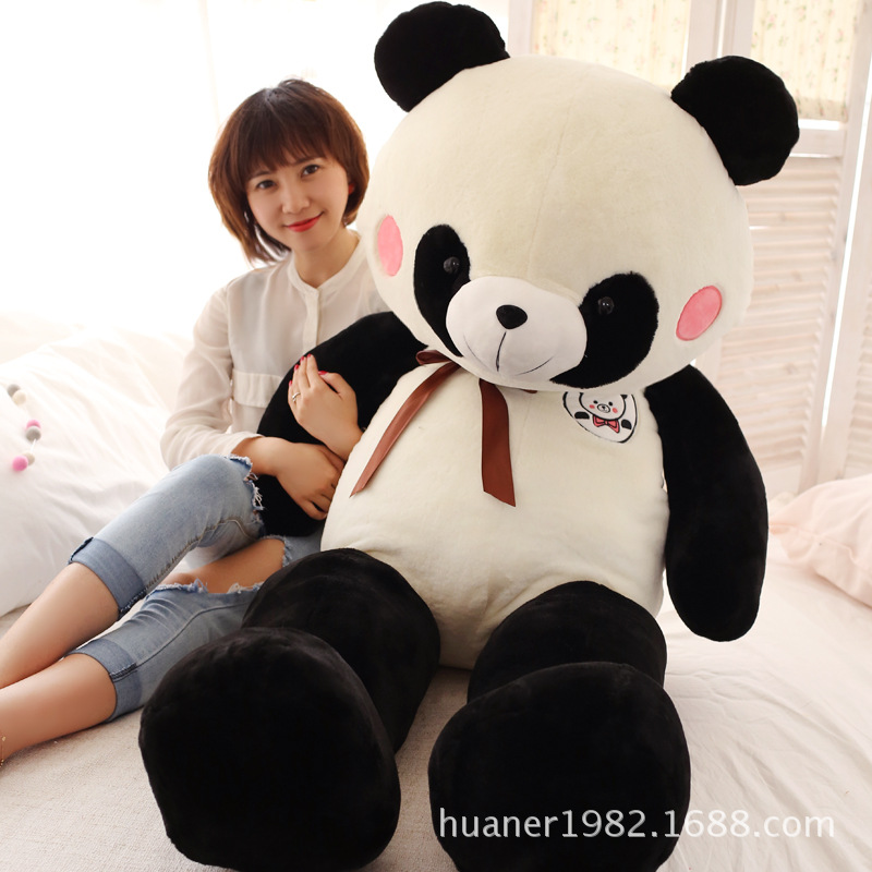 60cm Cute panda plush toy panda doll big size pillow birthday gift 110cm cute panda plush toy panda doll big size pillow birthday gift high quality