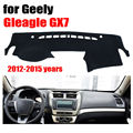Salpicadero del coche cubre estera para Geely Gleagle GX7 2012-2015 años con volante a la Izquierda salpicadero pad dash cubierta auto tablero de accesorios