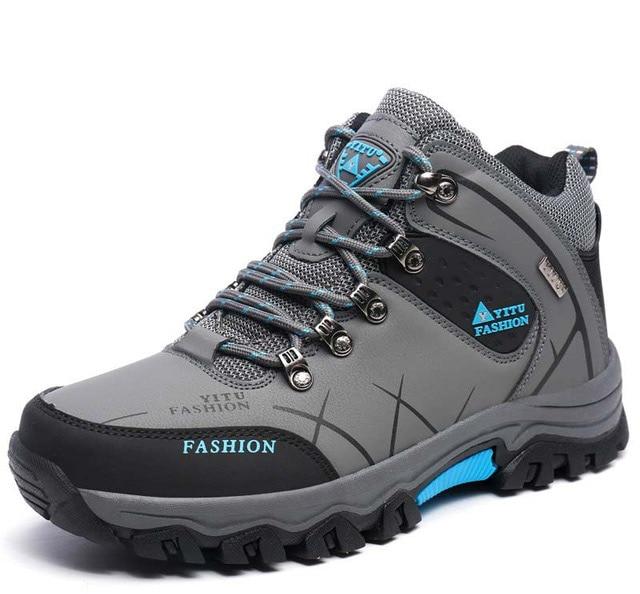 55f549e9a Shoes Men 2018 Fashion Winter Sneakers Men Hiking Shoes Plus Size Mountain  Waterproof Climbing Trekking Shoes