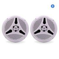 Guare Bluetooth Speaker Waterproof Marine Bluetooth Speaker Stereo Car Speakers 6.5 For ATV Outdoor Motorcycle Boat Music