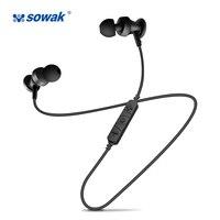 Sowak S2 Stereo Bluetooth Headset Bluetooth Earphone Sport In Ear Earphone Sport Bluetooth Headset Wireless Headphones