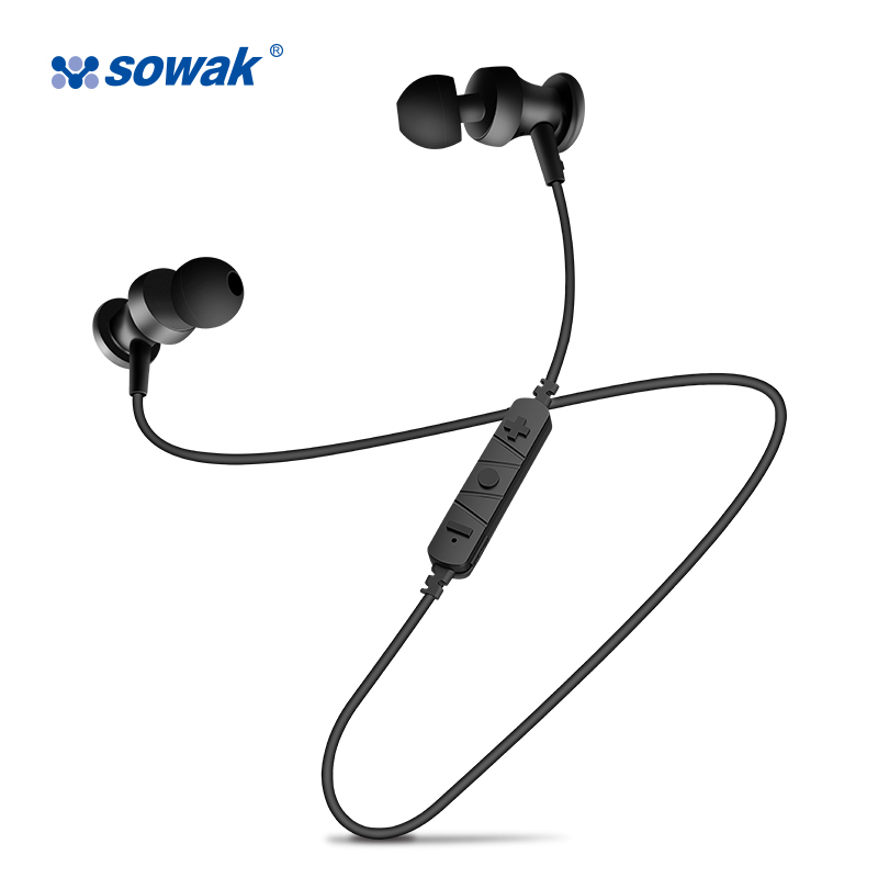 Sowak S2 Stereo Bluetooth Headset Bluetooth Earphone Sport In-ear Earphone Sport Bluetooth Headset Wireless Headphones for phone universal led sport bluetooth wireless headset stereo earphone ear hook headset for mobile phone with charger cable page 2