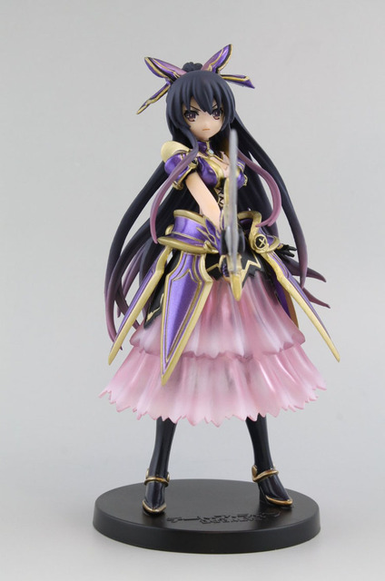 17 cm Date A Live Yatogami Tohka Action Figures PVC brinquedos Collection Figures toys for christmas gift with Retail box