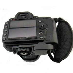 Image 3 - גריפ רצועת יד מצלמה עבור Canon 5D Mark II 650D 550D 70D 60D 6D 7D ניקון D90 D600 D7100 D5200 d3200 D3100 D5100 D7000 עבור Sony