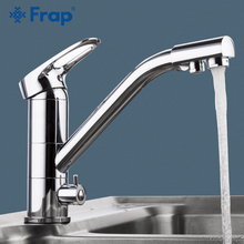 FRAP Kitchen Faucet 360 rotation modern kitchen sink faucet mixer taps faucet saving water chrome plated deck mounted tap ware все цены