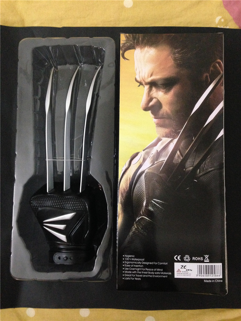 X-Man Wolverine Claws Glove Cosplay Anime X-man Action Figure Marvel Movie Character Collection Models toys 40cm polaris x over glove