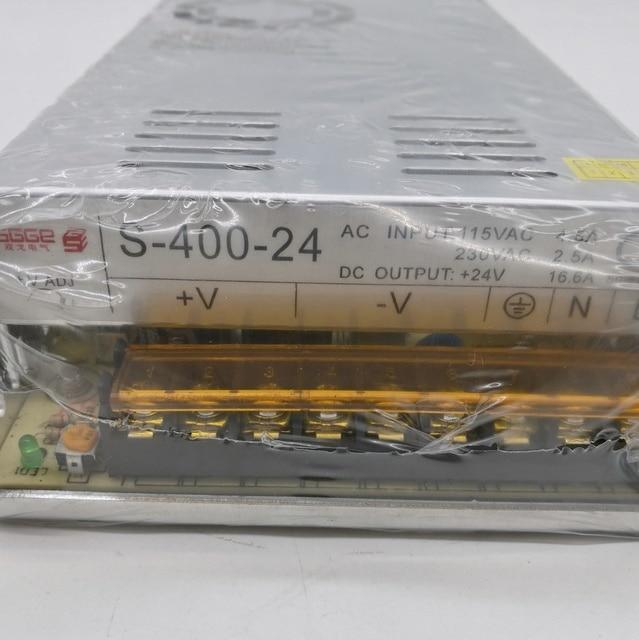 Alimentation électrique à sortie unique, S-400-12 W, 12v, 16,5 a ca vers cc