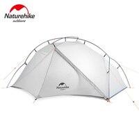 Naturehike VIK Serie Открытый Одноместный тент ультра легкий 0,93 кг 15D нейлон Кемпинг Туризм снег непромокаемый портативный алюминиевый тент