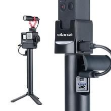 Ulanzi empuñaduras de mano para Cámara de Acción, Power Stick de 6800mAh para Gopro 7 6 5 Osmo Action Osmo, empuñadura de mano Universal de bolsillo