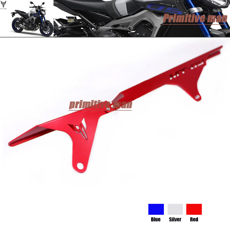ФОТО For YAMAHA MT 09 MT09 MT-09 Tracer 2015 Motorcycle Accessories Rear Chain Guard Swingarm Cover Red