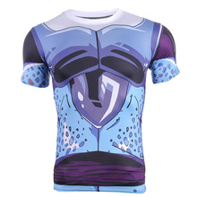 New Dragon Ball Saiyan Goku T shirt Men 3D T-shirt Printed Tops Fitness New Saiyan 3d tshirt tees tops Homme S-4xl