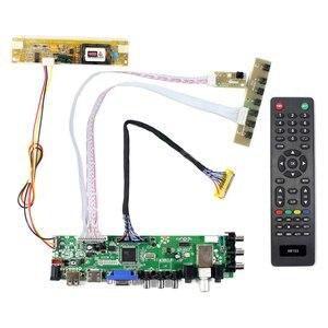Image 1 - HD MI VGA AV USB ATV DTV LCD Controller Board  work for 18.4inch 1920x1080 2 CCFL backlight 30PIN LVDS panel LTN184HT03 N184H4