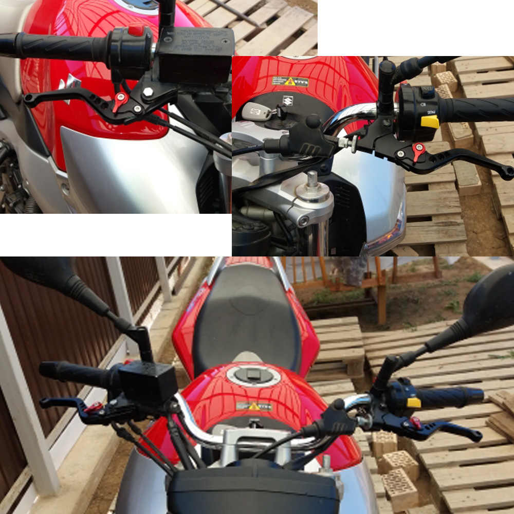 For Bajaj Pulsar 200 NS/200 RS/200 COMO 2015-2018 Motorcycle Accessories  CNC Short Brake Clutch Levers