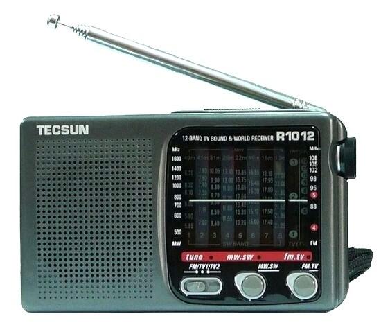 TECSUN R-1012 FM/MW/SW/Звук ТЕЛЕВИЗОРА Радио Приемник