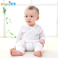 YOUQI Newborn Clothes Baby Girl Clothes Summer Baby Dress Tops Pants Suit Cotton Brand Boy Clothes