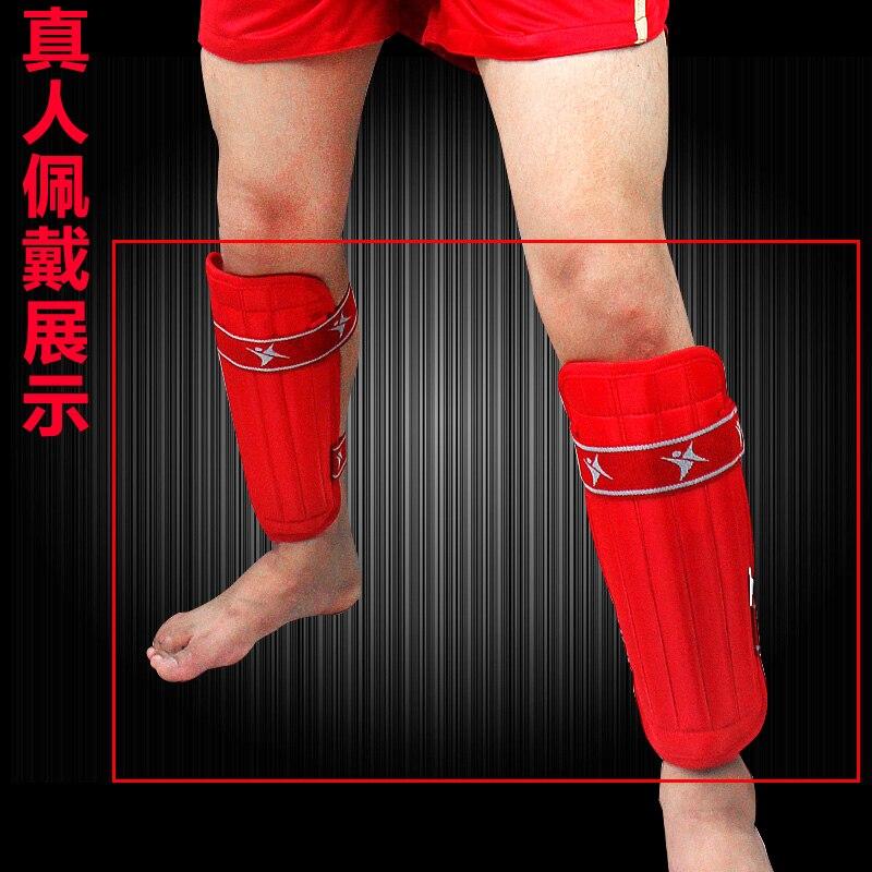 Санда щитки Размеры S-L тхэквондо карате боевых колодки Art для взрослых и детей ребенок голени защитные щитки ноги хвостовик протектор