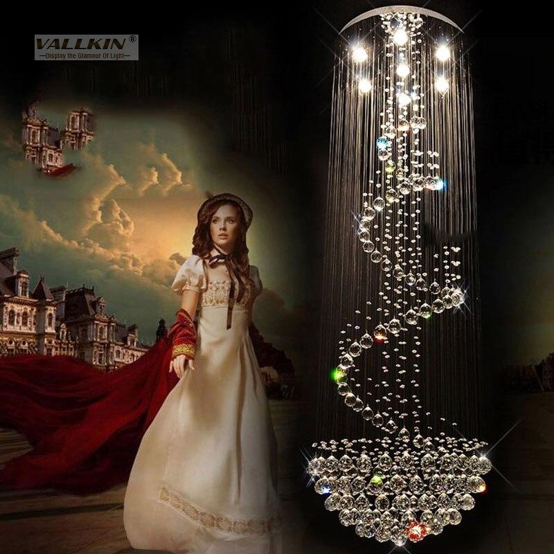 LED բյուրեղապակի ջահեր լուսավորող շքեղ - Ներքին լուսավորություն - Լուսանկար 2