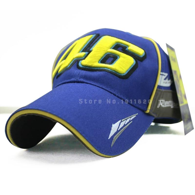 Prix pour Vr46 Snapback Chapeaux Moto gp Butin Rossi 46 Moto Baseball Caps Racing Cap Hommes En Plein Air Sport Os Broderie Marque Casquette