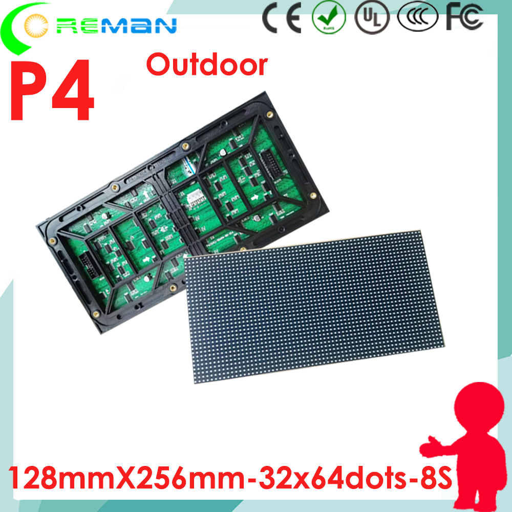 Free Shipping High Quality Nationstar Led Chip Led Display Module P4 Long Life Span Digital Led Sign Board Parts Accessories Moderate Price Optoelectronic Displays Electronic Components & Supplies