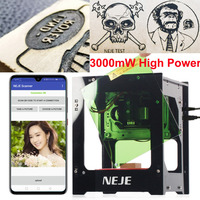 NEJE DK 8 KZ 3000mW Laser Engraving Machine 445nm AI Smart DIY USB Mini High Power Speed Laser Engraver CNC Cutting Router