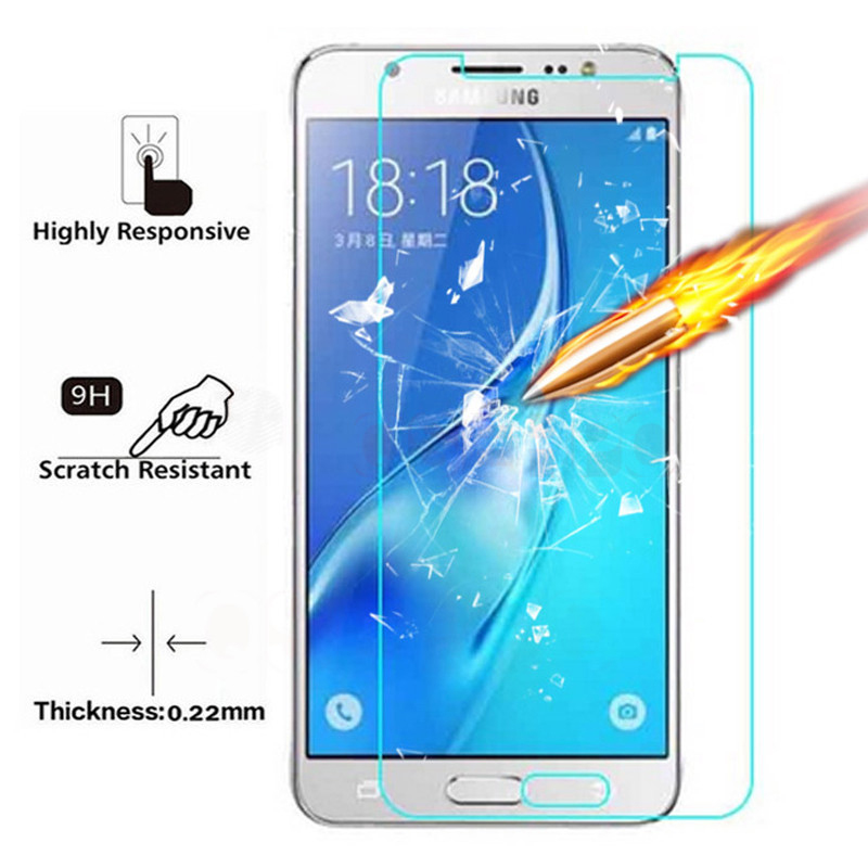 0.22mm Tempered Glass On For Samsung Galaxy A3 A5 A7 J3 J5 J7 2016 2015 2017 J330 J530 J730 Screen Protector Film 9H Protective