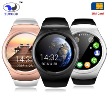 V365 Smart Watch GSM SIM TF Card Smartwatch Wristwatch Round Touch Screen Intelligent Clock Inteligente Pulso Music Pedometer