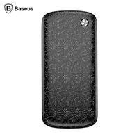 BASEUS 5V/2.1A Outputs Plaid Ultra thin Portable 10000mAh Power Bank with Micro USB Dual Inputs Single USB OutPut
