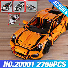 LEPIN 20001 Série Technic Modelo 20001B Kit De Construção de Carro de Corrida blocos Tijolos definir 42056 brinquedos Educativos 23002 MOC 4789 23006 DIY presentes
