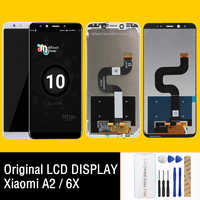 100% Original Xiaomi Mi A2 6X LCD Display with Frame Xiaomi A2 Global LCD Screen Digitizer Replacement Repair Spare Parts Tested