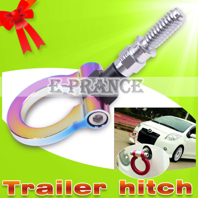 Loss Sale! 100% Brand New Racing Tow Hook for Japanese Car Billet Aluminum Tow Hitch High Quality Car Hitches #CA0028JA