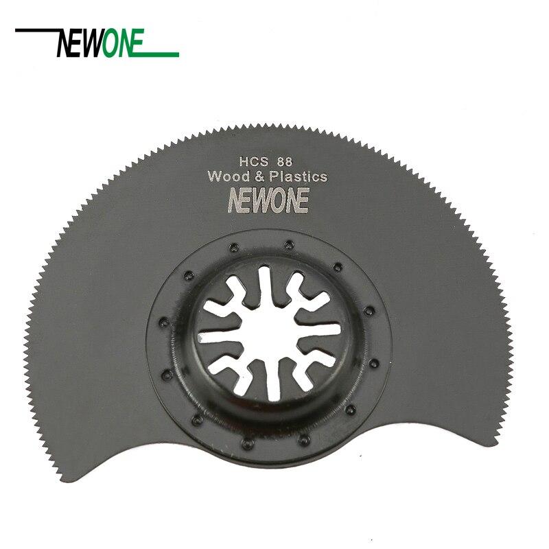 Newone HCS 88mm Flush Segment Oscillating Multi Tool Saw Blades For Renovator Tool For TCH FEIN DREMEL Multimaster