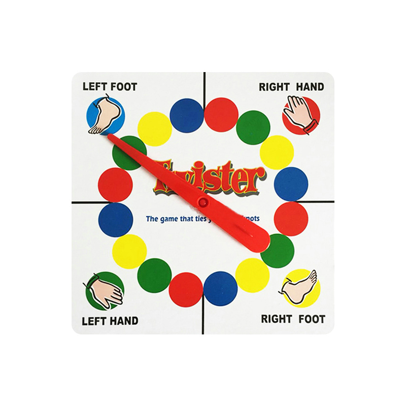 Twister Body Game Friend Family Funny Toys English Instructions Exercise Coordination Of Gadgets Classic Kids Outdoor Sport Game