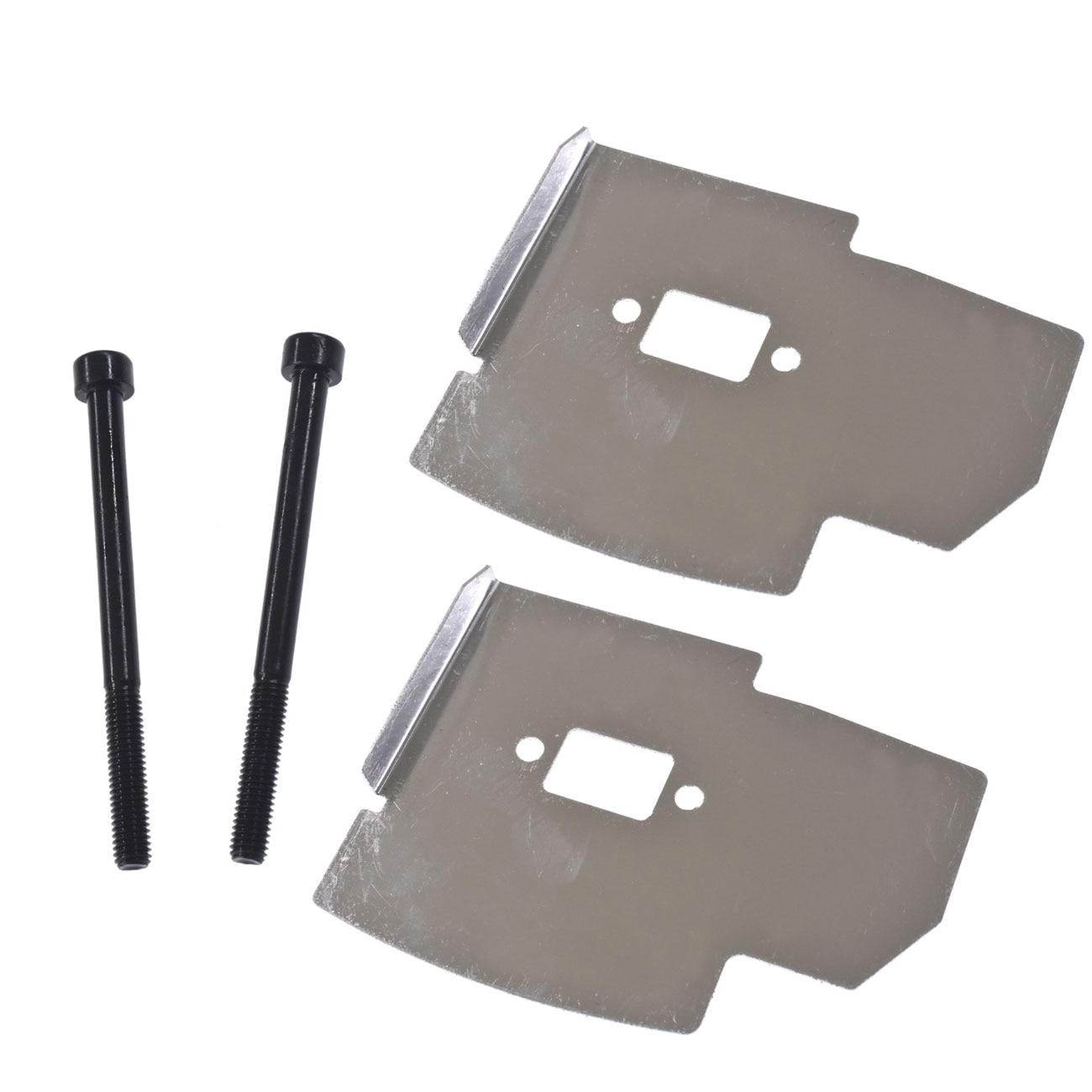 Muffler Heat Shield Deflector Bolts To For ZENOAH G35L G45L HUSQVARNA 143RII