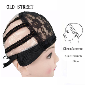 Image 4 - High Quality Lace Wig Caps For Making Wigs Black Dome Cap Wig Hair Net Hair Weaving Stretch Adjustable Wig Cap