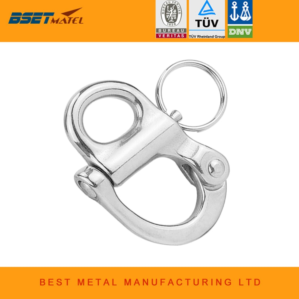 stainless steel 316 Rigging Sailing Fixed Bail Snap Shackle Fixed Eye snap hook sailboat Sailing Boat Yacht Outdoor Livingstainless steel 316 Rigging Sailing Fixed Bail Snap Shackle Fixed Eye snap hook sailboat Sailing Boat Yacht Outdoor Living