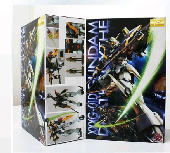 1:100 MG Gundam / EW KA scratch card stickers version of Death Assembled Model toy