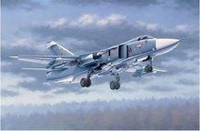 Трубач 02835 1:48 Русский Су-24м «фехтовальщик» D «Пилот» Собраны модели