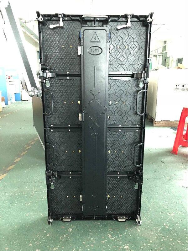 500x1000 мм наружный rgb светодиодный экран p4.81 наружный литой алюминиевый шкаф для рекламы на Прокат видео настенный светодиодный экран