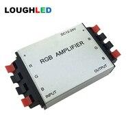 LED RGB A Mplifier 12A LEDควบคุมRepeater DC12-24Vสำหรับ5050 3528 RGBหลอดไฟLED Strip