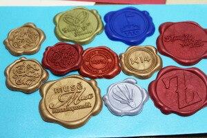 Image 3 - Étiquettes de cire pour sceau de cire