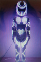 LED Costume /LED Clothing/Light suits/ LED Robot girl suits/ Luminous costume/ trajes de LED
