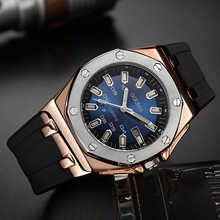 Nuevos relojes ADDIES 2020 de lujo para hombre, reloj de cuarzo militar resistente al agua, reloj deportivo de silicona para hombre, caja + reloj