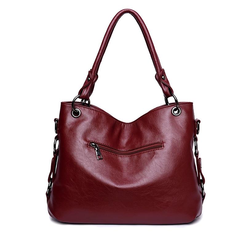 Image 3 - Fashion 2018 Tassel Women Handbags Designer Shoulder Bag High  Quality PU Leather Bags Women Chain Ladies Hand Bag Tote Sacsac  fashiondesigner toteleather bags women