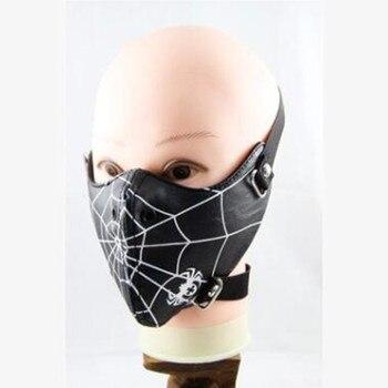 Горячее предложение хипстеры show альтернатива Человек-паук Костюмы для косплея Интимные аксессуары заклепки маска Человек Необычные Хэллоуин мотоцикл маска