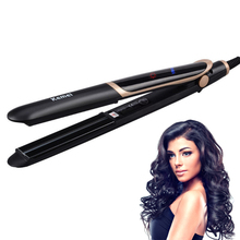 2 In 1 Infrared Flat Curling Iron Hair Straightener