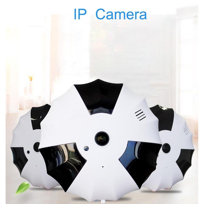 360 Degree Wireless Panoramic Camera 1080P Network Wi-fi Fisheye Security IP Camera WIFI erasmart hd 960p p2p network wireless 360 panoramic fisheye digital zoom camera white
