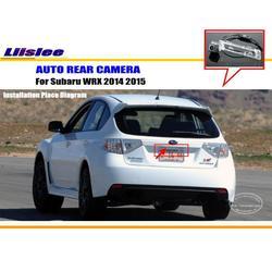 Mobil Kamera Belakang untuk Subaru Impreza WRX 2014 2015/Kembali Kamera Parkir/HD CCD RCA Ntst PAL/Reverse lubang Kamera